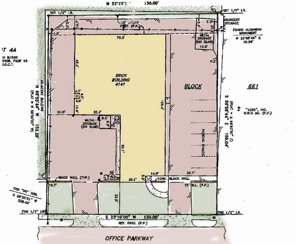 PAMS 4141 Office Parkway building sketch