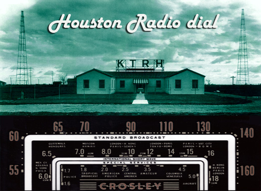 Houston Radio dial klein