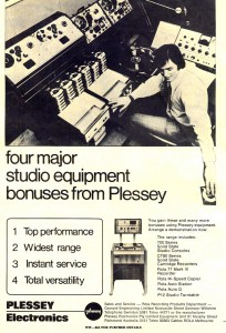 Plessey advertentie